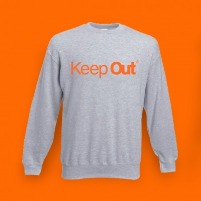 KEEP OUT SWEATSHIRT